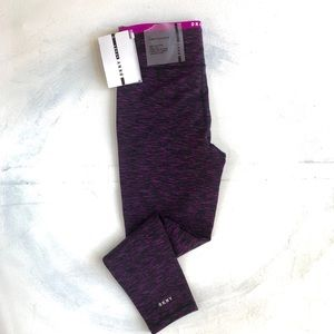 "NWT DKNY Sport Hi Waist 7/8"" Length Gym Leggings"